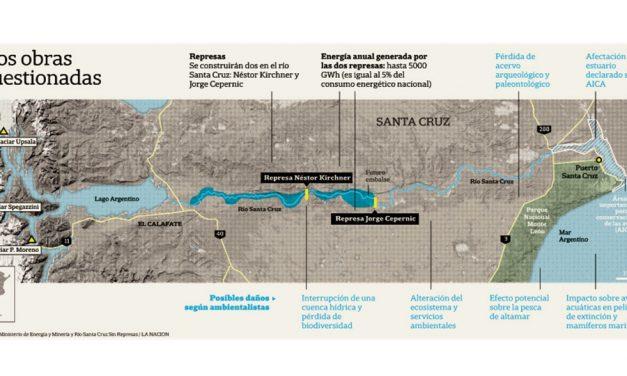 Glaciólogos internacionales se oponen a la construcción de las represas en Santa Cruz