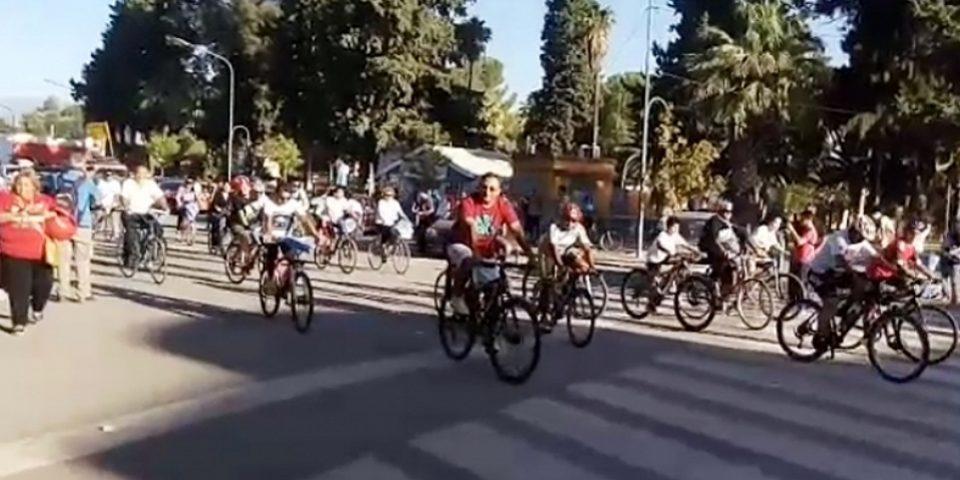 Arrancó desde Jachal la bicicleteada que llegará a Buenos Aires para defender los glaciares