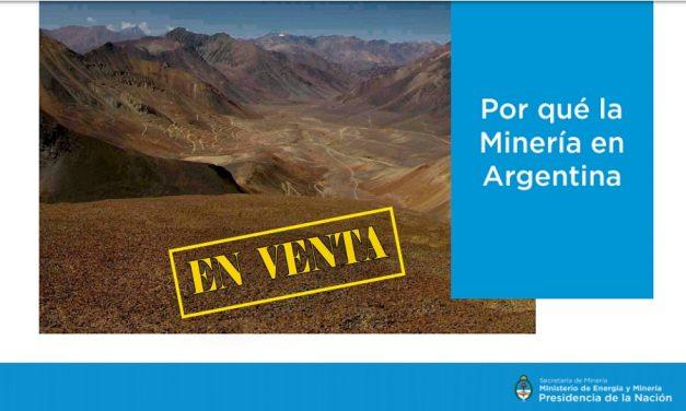 Los documentos ofreciendo yacimientos argentinos a las mineras en la Feria de Canadá