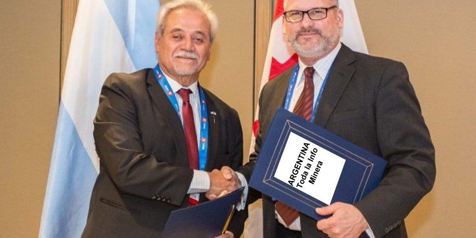 """El Segemar compartirá con Canadá datos de """"potencialidades mineras"""" de Argentina"""