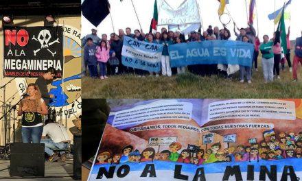 Postales de una voluntad popular: Marchas simultáneas contra la megaminería en Chubut