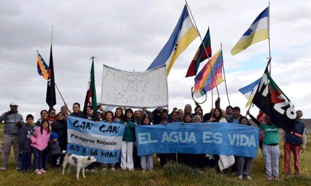 """Pobladores de distintos puntos de la meseta rechazan la """"solución minera"""""""