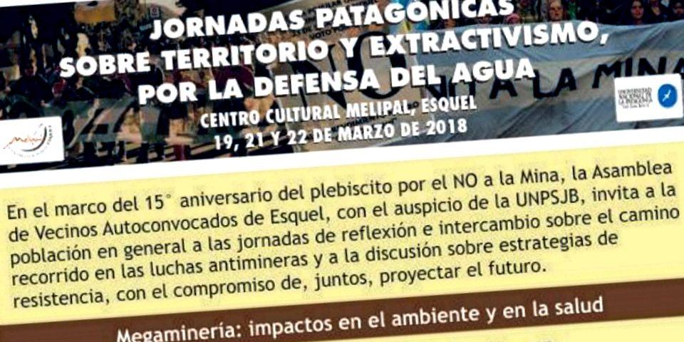 Son de interés municipal las Jornadas para festajar 15 años del triunfo del NO A LA MINA