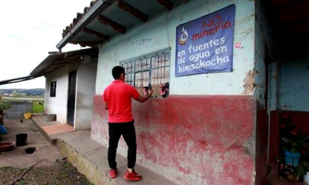 La presión social para frenar la minería metálica persiste en 7 cantones ecuatorianos