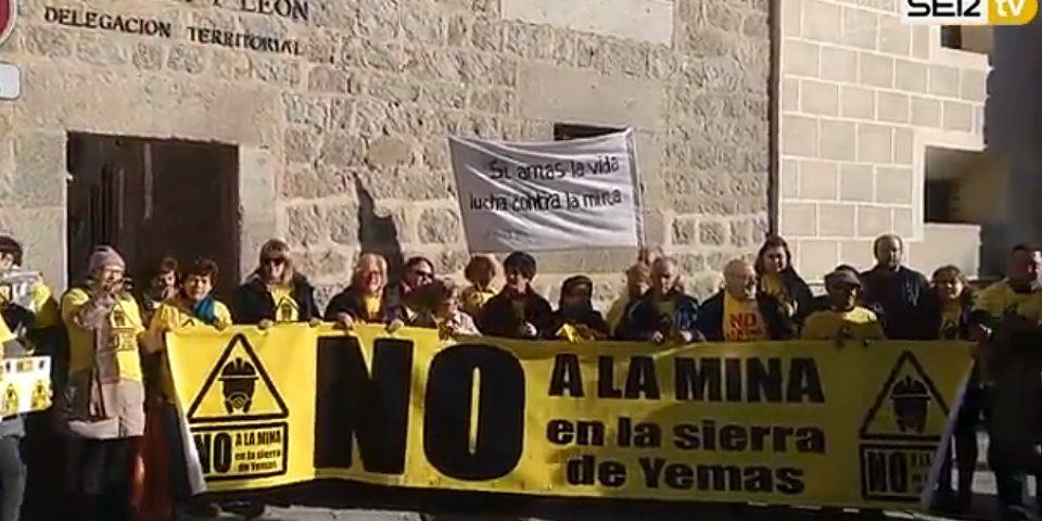 22.685 firmas contra una mina de feldespato en la Sierra de Yemas