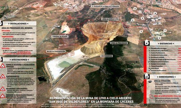 """La minera reconoce que el impacto ambiental de su proyecto en Cáceres """"es importante"""""""