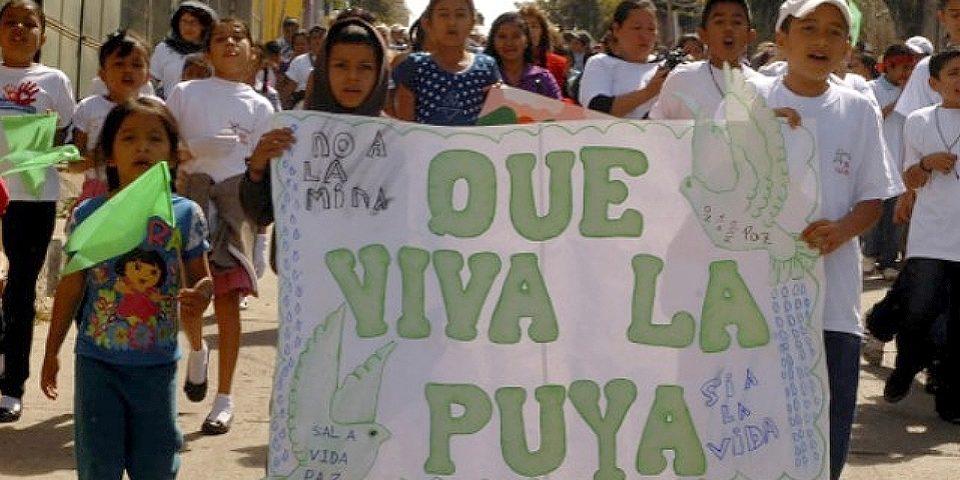La Puya, un ejemplo de resistencia pacífica contra la minería en Guatemala
