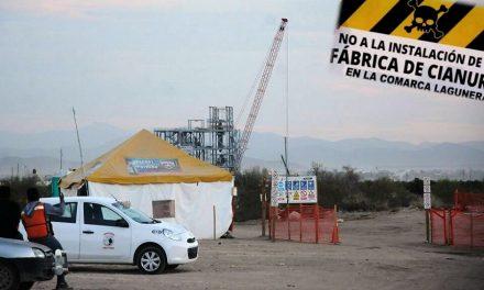 Juez ordena suspender construcción de fábrica de cianuro en el poblado de Dinamita