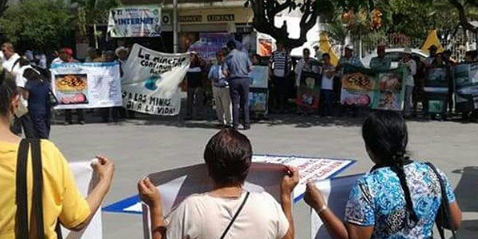 Se afirma el rechazo a la minería en Actopan y Alto Lucero