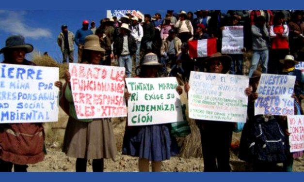 Encuesta peruana demuestra la pésima experiencia de la minería a gran escala