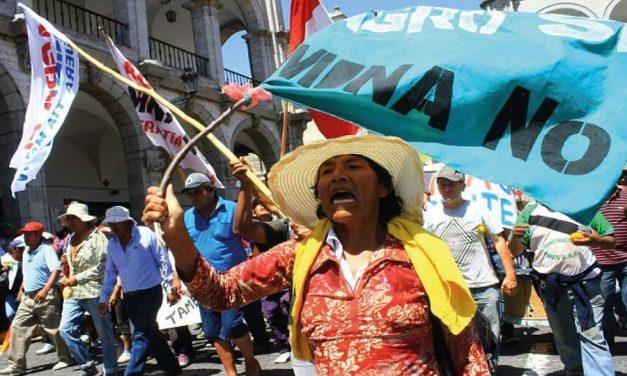 Oposición al proyecto Tía María se mantiene en el sur peruano