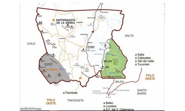 Alarma porque minera quiere desviar un río en Catamarca para explotar litio