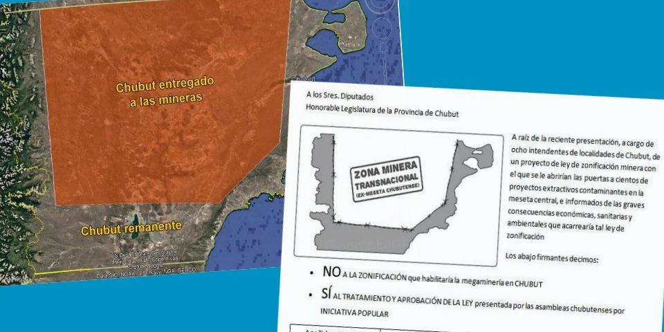 A firmar y movilizarse: NO a la megaminería, tratamiento y aprobación de la Iniciativa Popular
