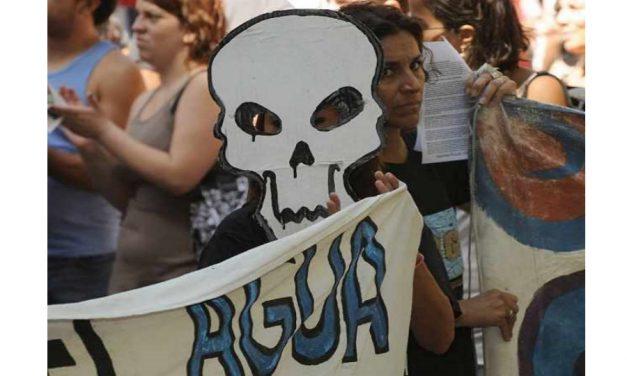 """Asambleas mendocinas rechazan fracking, decreto y """"zona de exclusión"""""""