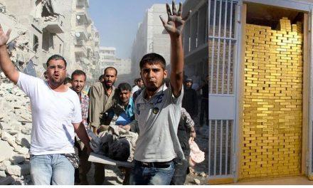 Oro y plata amigos de guerras: conflicto bélico en Siria aumenta precios y especulacion