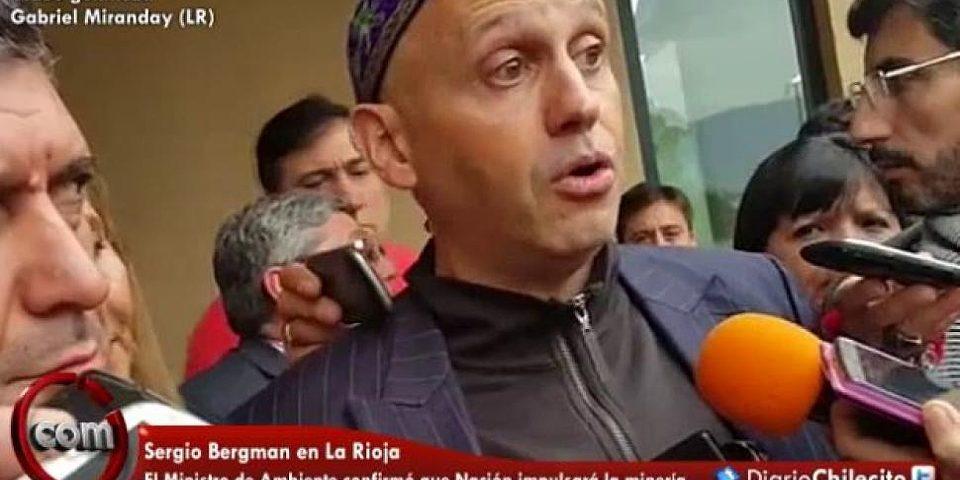 El Ministro de Ambiente de Macri confirmó que la minería es política de estado