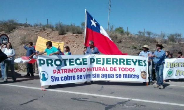Pejerreyes celebra retiro de proyecto de minera china