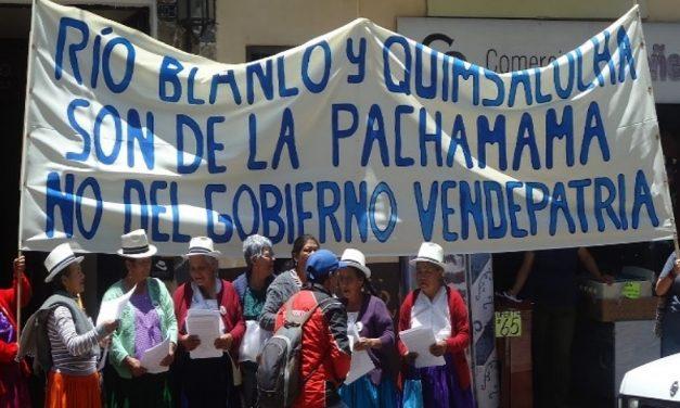 Alcalde de Cuenca pide al presidente que suspenda minería en Azuay
