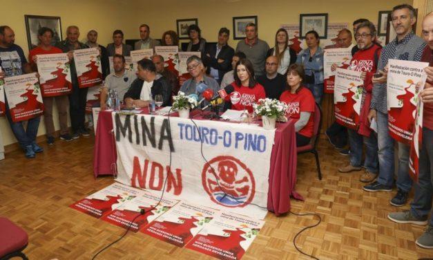Advierten que mina de Touro utilizará 15.000 toneladas de productos químicos
