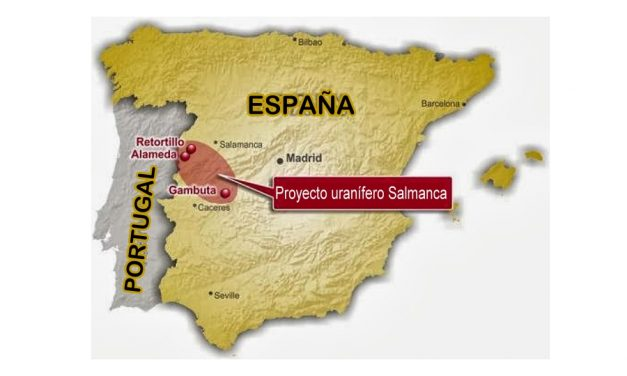 Mina de uranio de Salamanca sin estudio de impacto ambiental transfronterizo