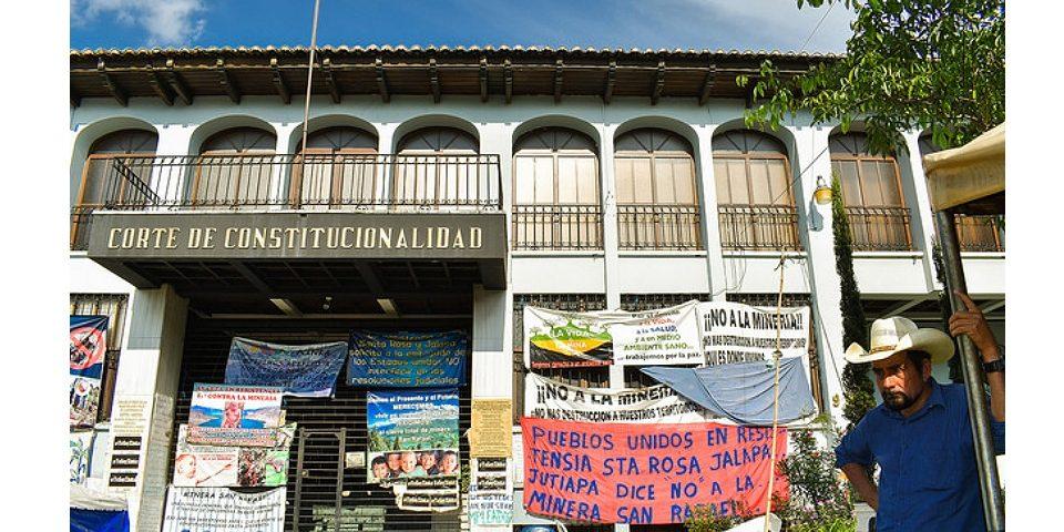 San Rafael Las Flores sin consulta previa y con rechazo pleno a la minería