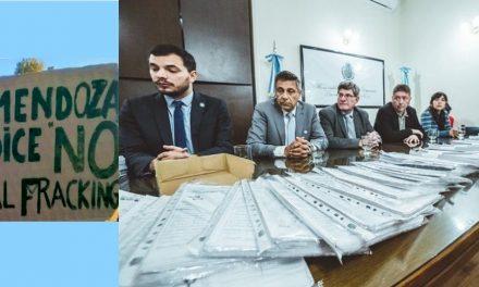 Asambleas mendocinas presentarn 42.851 firmas contra el fracking