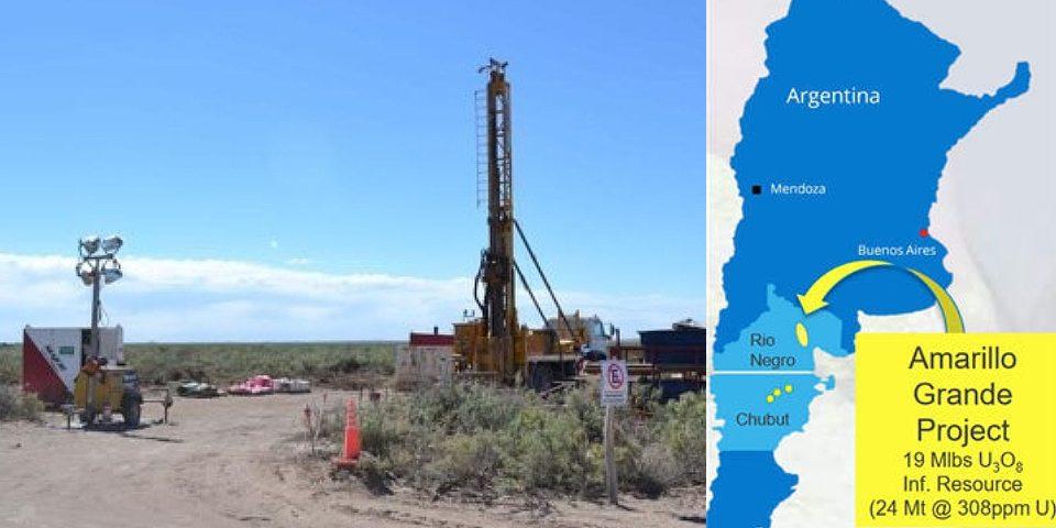 Minera canadiense bombardea con propaganda por el uranio de Río Negro