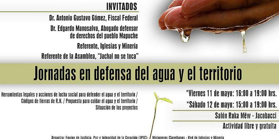 """Encuentro en """"Defensa del Agua y del Territorio"""" en Ing. Jacobacci"""