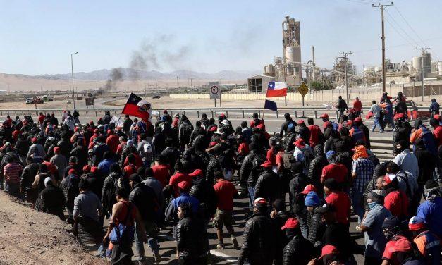 Huelga inminente en Mina La Escondida: 5 años de salarios congelados