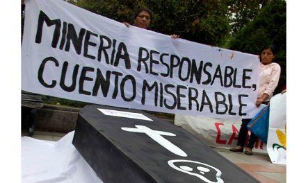 No existe minería sustentable o responsable, insiste frente ambientalista