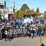 Masiva marcha en Rawson contra la avanzada minera
