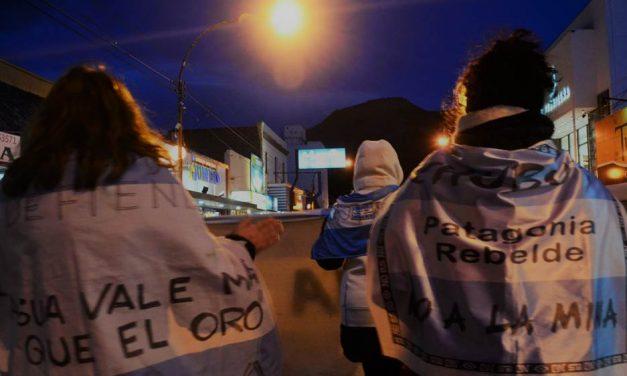 El pueblo de Chubut, movilizado y unido por el NO A LA MEGAMINERÍA