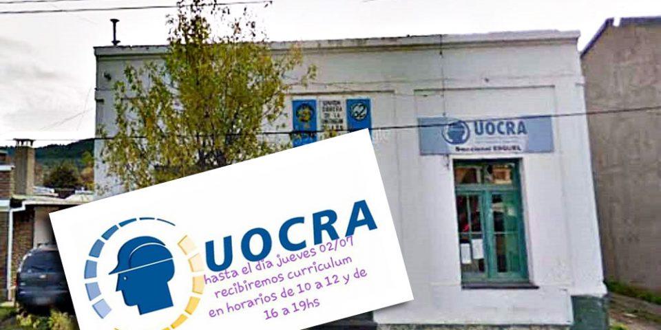 La UOCRA de Esquel, socia de las mineras