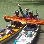 Exitosa travesía en defensa del río Chubut