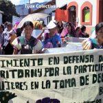Las mujeres decimos NO a los intentos de conquista de las corporaciones mineras