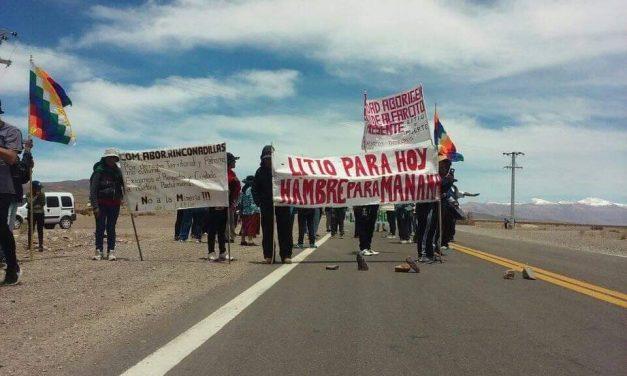Comunidades kolla expulsaron a minera de litio
