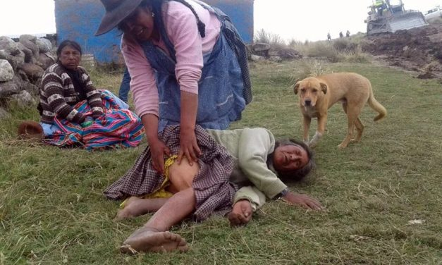 Mujeres campesinas agredidas por Glencore y Carlyle Group