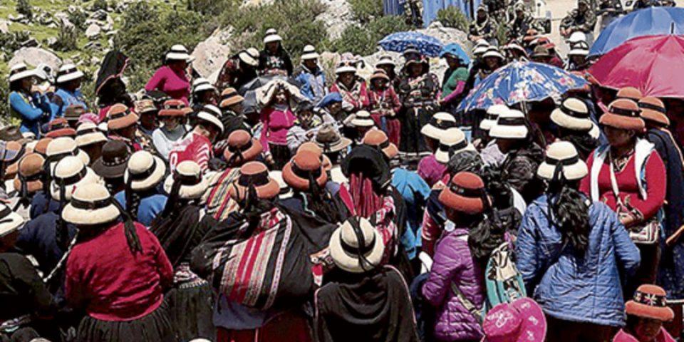 Se profundiza el conflicto por mina Las Bambas