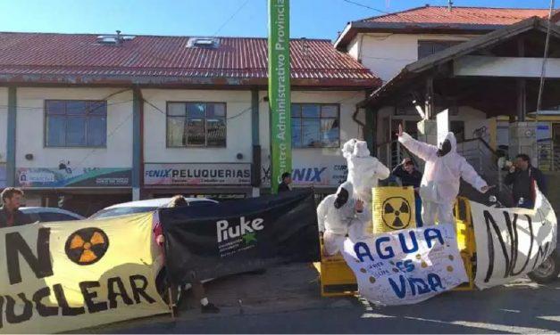 Protesta por mina de uranio en Río Negro