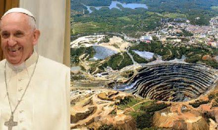 El Papa pidió un cambio de paradigma en la minería