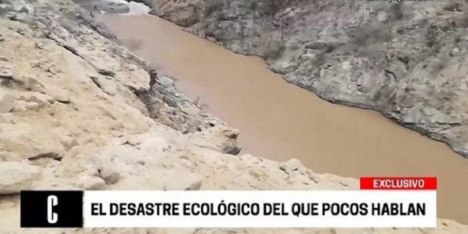 Derrame minero en Perú